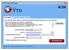 YTD Video Downloader free download
